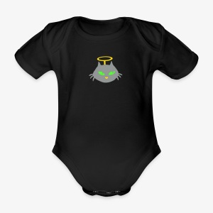 Little sweet angel - Organic Short-sleeved Baby Bodysuit
