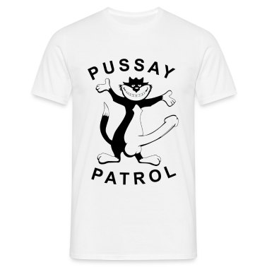 Pussay Patrol T Shirt White Inbetweeners T Shirt