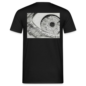 EYE on my Back (Man) - Männer T-Shirt