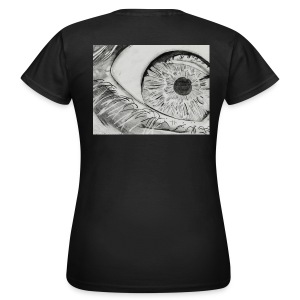 EYE on my Back (Woman) - Frauen T-Shirt