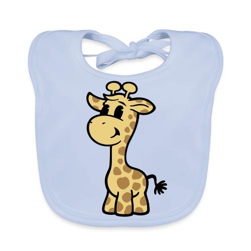 Baby-Kollektion: Süße Giraffe - Baby Bio-Lätzchen