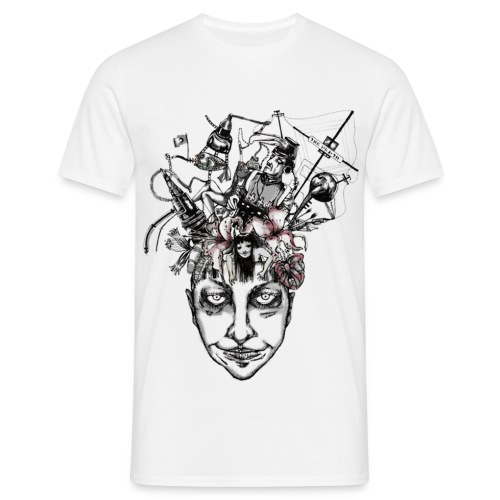 Journey to the centre of my mind - Men's T-Shirt