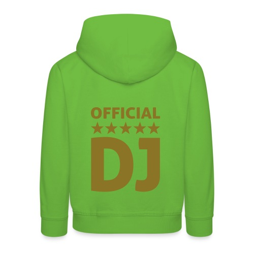 DJ king - Kids' Premium Hoodie