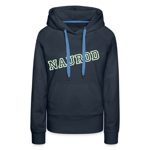 NAUROD leucht Hoddy for Woman - Frauen Premium Hoodie