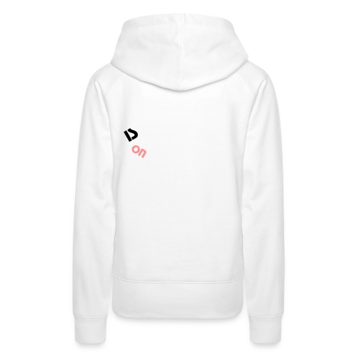 Kapuzenpullover *Is On* - Frauen Premium Hoodie