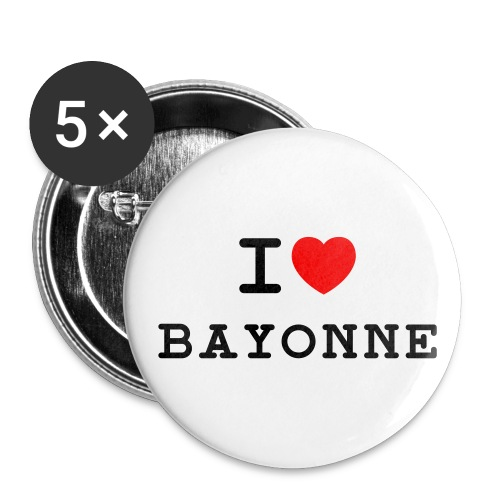 5 badges 56mm - Badge grand 56 mm
