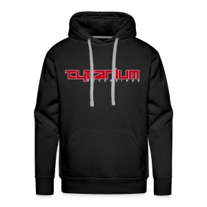 Tytanium Recordings 2-Color Logo Hoody (Selectable Colors) - Men's Premium Hoodie