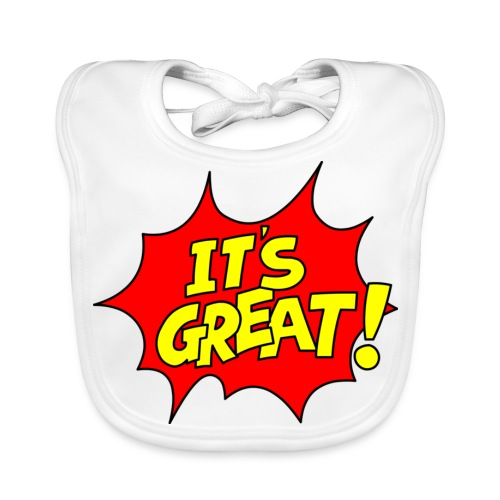 It's Great! Baby's Organic Bib - Baby Organic Bib