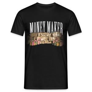tee shirt poker Money Maker - T-shirt Homme