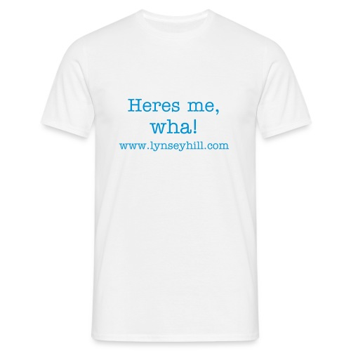 heres me wha tee - Men's T-Shirt