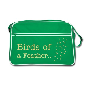Birds of a Feather Bag - Retro Bag
