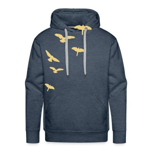 Men's Bird Hoodie - Men's Premium Hoodie