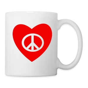 PEACE AND LOVE - Tasse