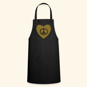PEACE AND LOVE - Tablier de cuisine
