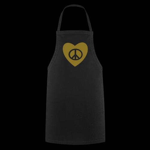 Amour et Paix par TattooFont3D - Cooking Apron