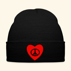 PEACE AND LOVE - Bonnet d'hiver