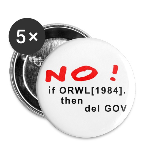 Orwell - Buttons mittel 32 mm