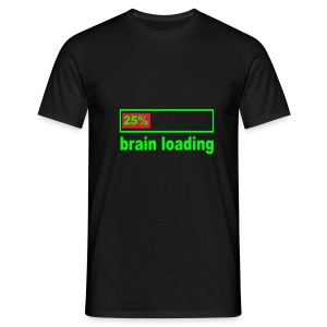 [Men's] Loading brain... - Men's T-Shirt