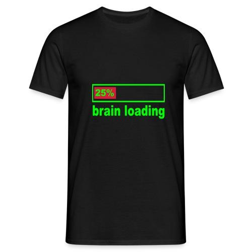 [Men's] Loading brain... - Men's T-Shirt