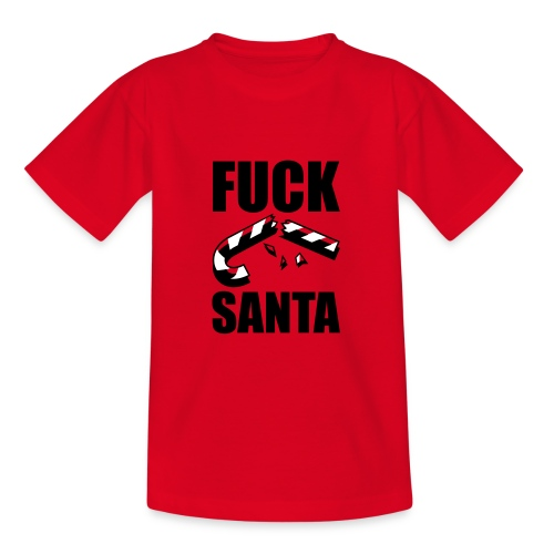 Fuck santa - Koszulka młodzieżowa
