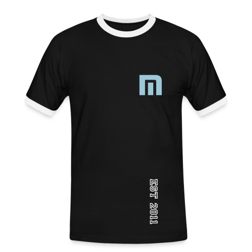 'M' Men's Contrast T-Shirt - Men's Ringer Shirt