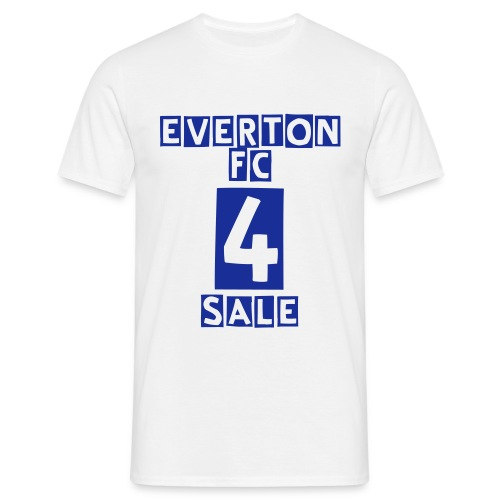 Everton FC for Sale - White - Men's T-Shirt