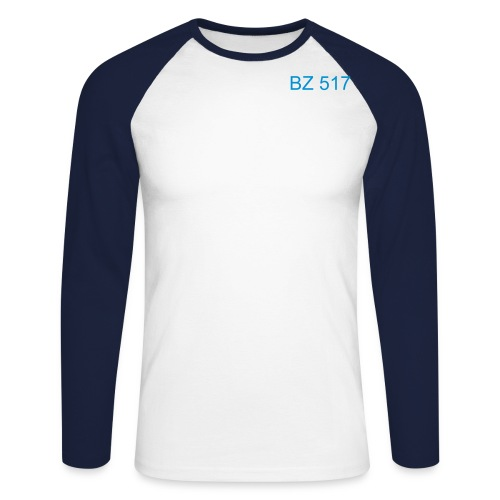 BZ 517 - T-shirt baseball manches longues Homme