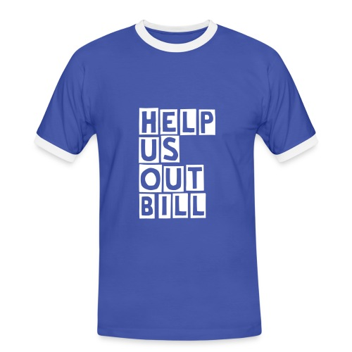Everton FC for Sale - White, Help us out Bill - Men's Ringer Shirt