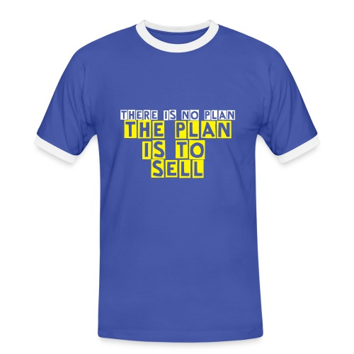Everton FC for Sale - White, The Plan is To Sell - Men's Ringer Shirt