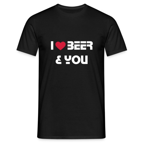 'M' I ♥ Beer & You Classic T-Shirt - Men's T-Shirt