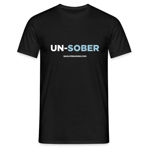 UN-SOBER - Men's T-Shirt