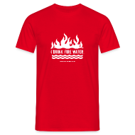T-Shirts ~ Men's T-Shirt ~ FIRE WATER