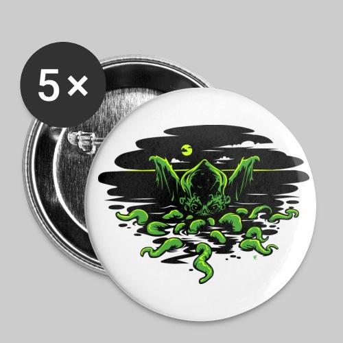 BU56: Cthlhu Rising - Buttons large 56 mm