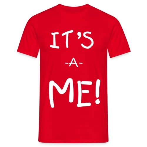 It's-a-ME! (man) - Men's T-Shirt