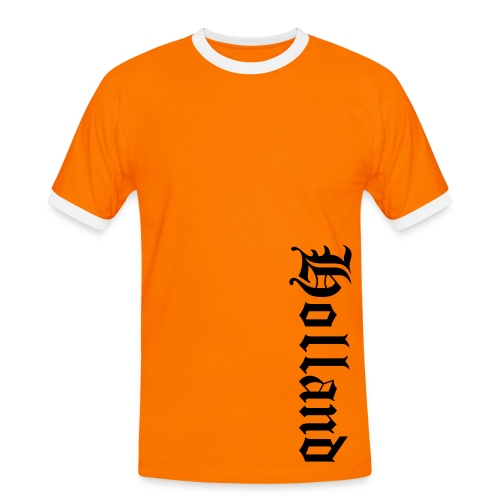 Mannen contrastshirt - tshirt,t-shirt,shirtpimper.com,sex,party,online,muziek,liefde,kopen,kids,internet,humor,holland,grappig,geweld,games,fun,feest,dames,bestellen,baby's