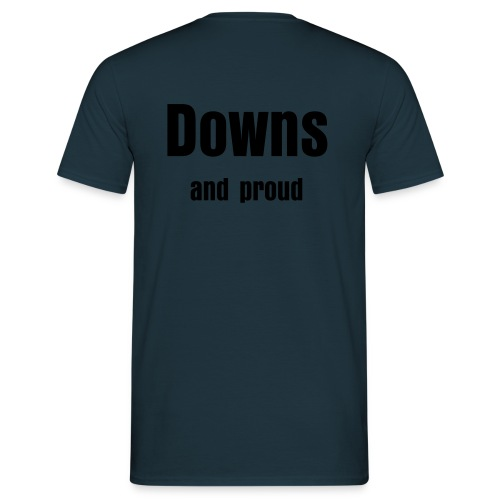 Downs syndrom - T-shirt herr