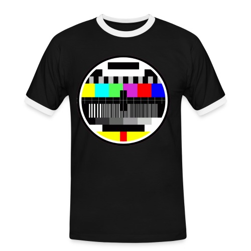 Monoscopio Test Pattern - Maglietta Contrast da uomo