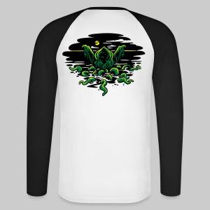 MTR: Cthulhu Rising - Men's Long Sleeve Baseball T-Shirt