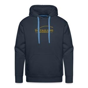 Detailing World 'Gold Metallic' Logo Hooded Fleece Top - Men's Premium Hoodie