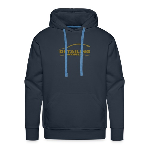 Detailing World 'Gold Metallic' Logo Hooded Fleece Top - Men's Premium Hoodie