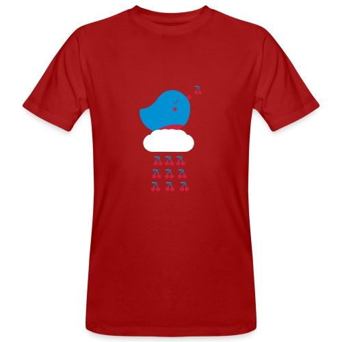 Cherry Bird  - Männer Bio-T-Shirt