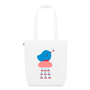 Cherry Bird  - Bio-Stoffbeutel
