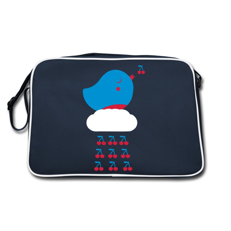 Cherry Bird  - Retro Tasche