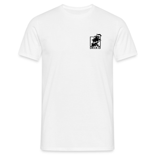 D13 / D13 Logo  Magic White - Men's T-Shirt