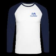 Long sleeve shirts ~ Men's Long Sleeve Baseball T-Shirt ~ Bar Navigator Shirt