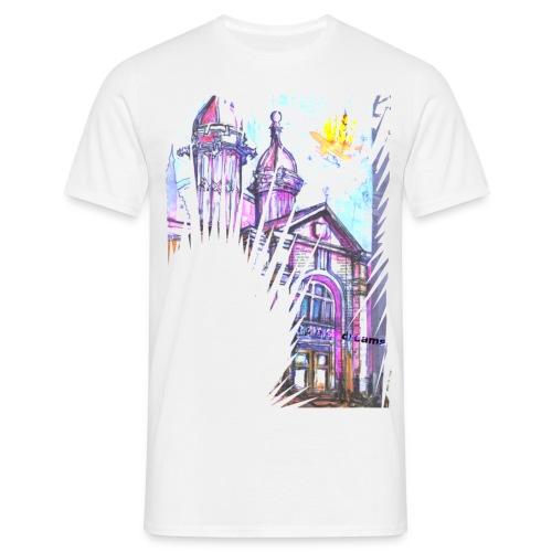 Temple of Dreams White - Men's T-Shirt