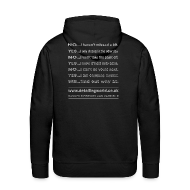 Hoodies & Sweatshirts ~ Men's Premium Hoodie ~ Detailing World 'Questions' Hooded Top