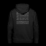 Hoodies & Sweatshirts ~ Men's Premium Hoodie ~ Detailing World 'Questions' Hooded Top