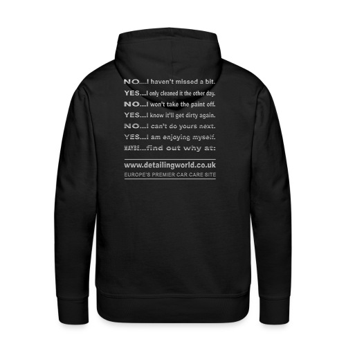 Detailing World 'Questions' Hooded Top - Men's Premium Hoodie