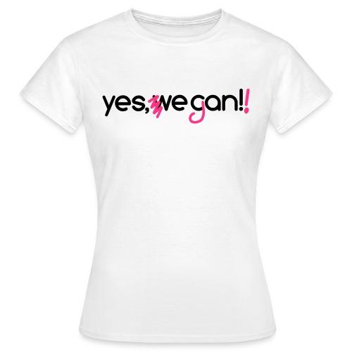 Yes, Vegan! - Camiseta mujer
